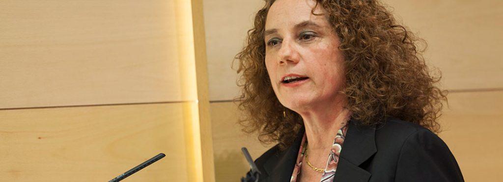 Así habló Valeria Budinich en su visita a Chile