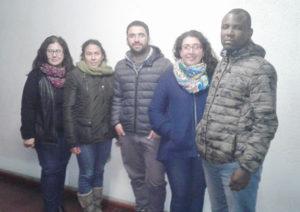 Estudiantes becados del Magíster en Educación de la sede Talca.